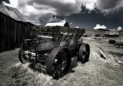 Wagon Photos - Bodie Wagon by Kurt Golgart