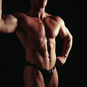 Body Builder Photos - Body Builder by Tony Mcconnell