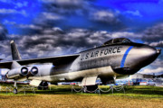 Historic Acrylic Prints - Boeing B-47 Stratojet by David Patterson