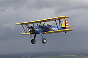 Stearman Photos - Boeing Stearman Model 75 Kaydet In U.s by Daniel Karlsson