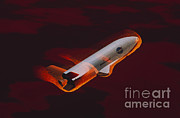 X-plane Prints - Boeing X-37 Space Plane Print by Science Source