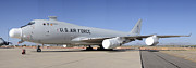Boeing Yal-1a Airborne Laser Testbed Davis-monthan Afb April 15 2012 Print by Brian Lockett