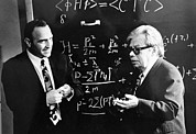 1980 Prints - Bogolyubov (right), Soviet Physicist Print by Ria Novosti