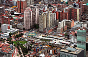 Latin America Photos - Bogota Cityscape by John Rizzuto