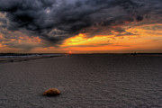 Get Away Photos - Bogue Banks Sunset by David Hahn