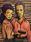 Humphrey Paintings - Bogy and Bacall by Matthew Stennett