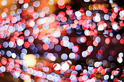 Light-years Posters - Bokeh Poster by Setsiri Silapasuwanchai