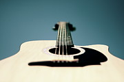 String Instrument Posters - Bokeh String Poster by George Bentley Photography