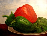 Diversity Paintings - Bold Bell Pepper by Shilpi Goenka