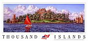 Thousand Prints - Boldts Castle Poster Print by Richard De Wolfe