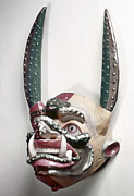Artifact Photos - Bolivia: Native Mask by Granger