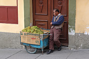 Geraint Rowland - Bolivian Street Seller