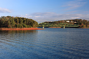 Bolling Photos - Bolling Bridge Over Lake Lanier 01 by Alberto Filho