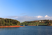 Bolling Photos - Bolling Bridge Over Lake Lanier 02 by Alberto Filho