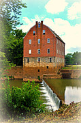 Bollinger Mill Print by Marty Koch
