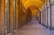 Bologna Photos - Bologna Archs by Andre Goncalves