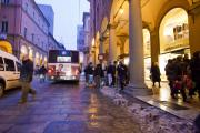 Italian Night Life Prints - Bologna at Dusk Print by Andre Goncalves