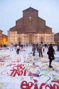 Bologna Photos - Bologna Cathedral by Andre Goncalves