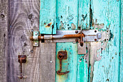 Valuable Prints - Bolted door Print by Tom Gowanlock