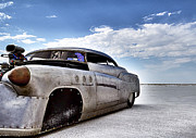 World Speed Record Photos - Bombshell Buick Bonneville 2012 by Holly Martin