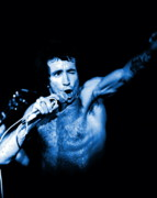 Bon Scott Framed Prints - Bon Scott in Spokane 2 Framed Print by Ben Upham