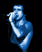 Bon Scott Framed Prints - Bon Scott in Spokane Framed Print by Ben Upham