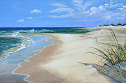 Shores Paintings - Bon Secour by Susan A Walton