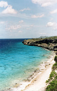 Tropical Photographs Photos - Bonaire Shore by C Sitton