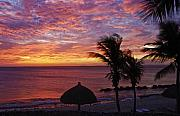 Tropical Sunset Prints - Bonaire Sunset 1 Print by Stephen Anderson