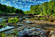 Matthew Winn - Bonanza Falls in Summer