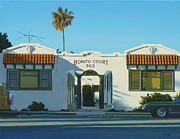 Stucco Paintings - Bonito Court by Michael Ward