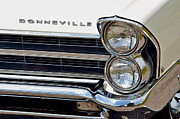 Fifties Automobile Prints - Bonneville Print by Robert Harmon