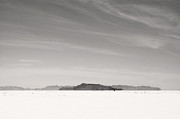 Antique Harley Davidson Photos - Bonneville Salt Flats by Marley Holman