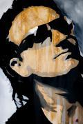 Bono Print by Brad Jensen