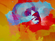Bono Painting Prints - Bono U2 Print by Irina  March