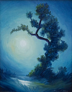Van Gogh Painting Originals - Bonsai I by James Christopher Hill
