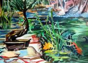 Bonsai Meditations Print by Mindy Newman