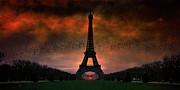 Bonsoir Paris Print by Chris Lord