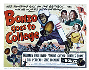 Posth Posters - Bonzo Goes To College, Edmund Gwenn Poster by Everett