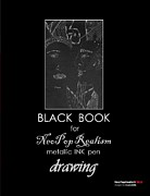 Black Book for NeoPopRealism metallic INK pen Drawing - Book by Nadia Russ