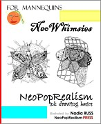NeoWhimsies NeoPopRealism Ink Drawing Basics for Mannequins - Book by NeoPopRealism...