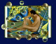 Nudes Digital Art - Book of dreams by Kurt Van Wagner