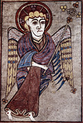 Saint Paintings - Book Of Kells: St. Matthew by Granger
