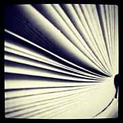 Bnw Art - #book #reading #pages #photooftheday by Ritchie Garrod