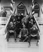 Tuskegee Institute Prints - Booker T. Washington  1856-1915, Second Print by Everett
