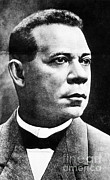 Born Into Slavery Art - Booker T. Washington, African-american by Photo Researchers