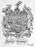 18th Century Prints - BOOKPLATE, 18th CENTURY Print by Granger