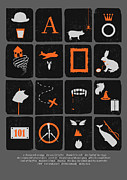 Orange Metal Prints - Books Are Good for You Metal Print by Budi Satria Kwan