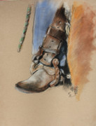 Paul Miller - Boot In Oxbow Stirrup