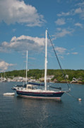 Ocean Art Photos Originals - Boothbay Harbor 1390 by Guy Whiteley
